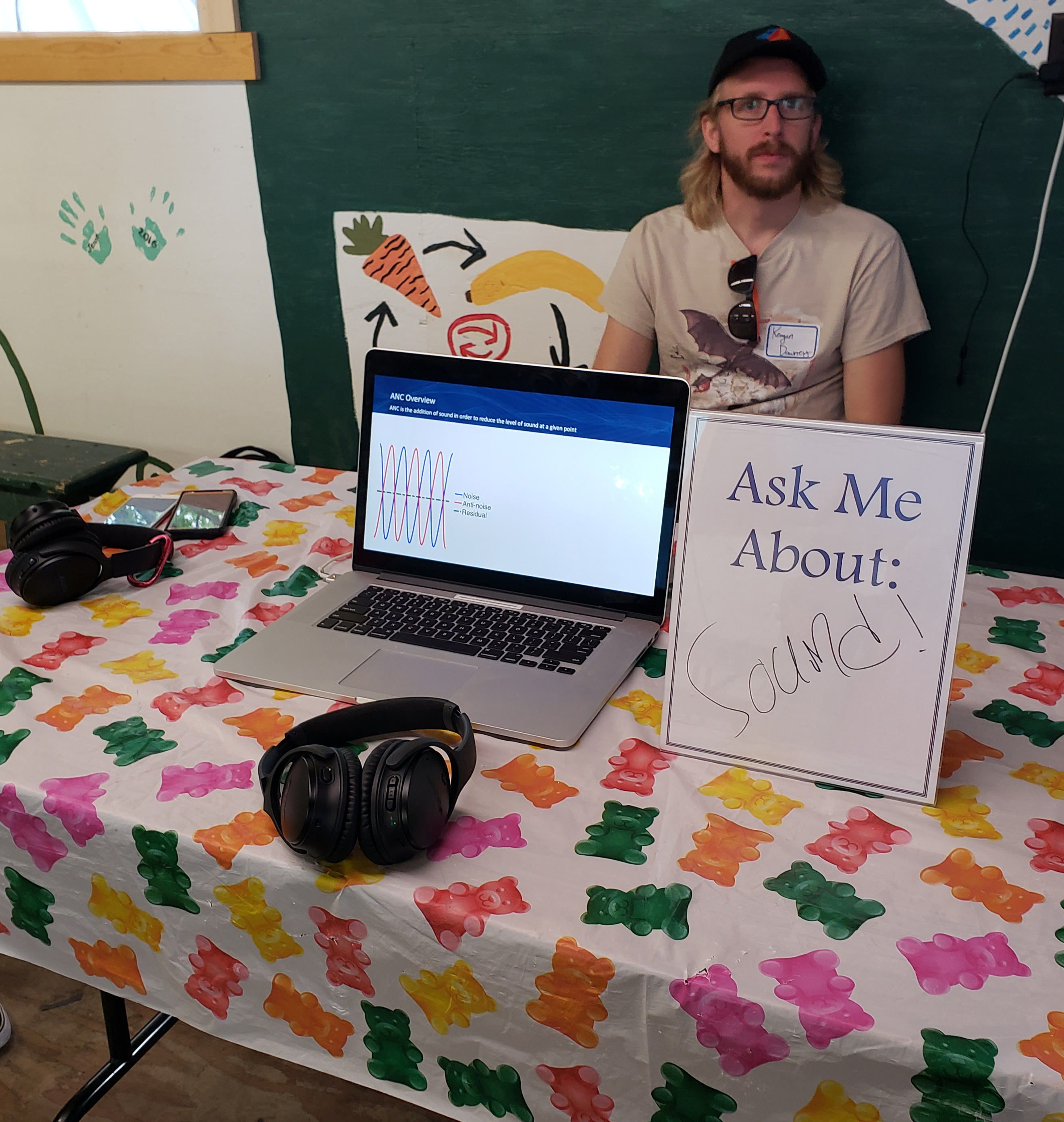 Ask Me About Sound! Grange Fair