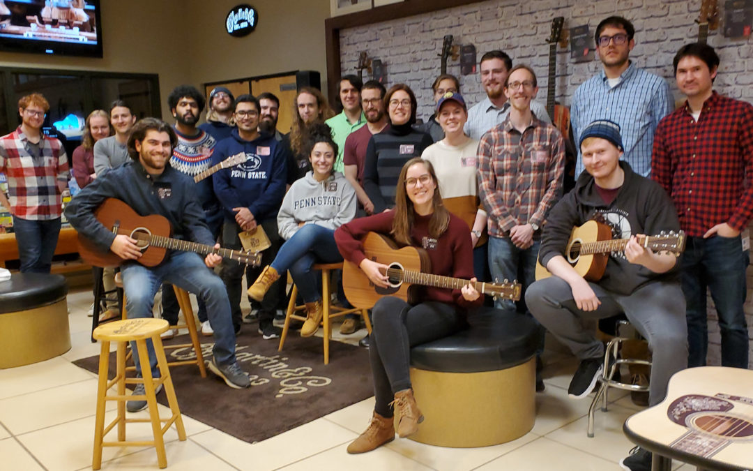 PSU ASA tours Martin Guitar Factory!